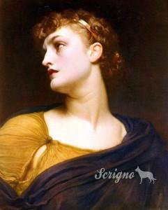 Antigone (Frederic Leighton, 1830-1896)