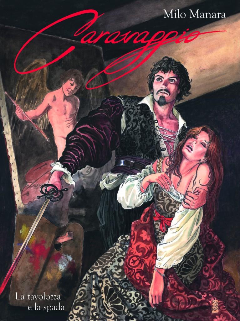 PaniniComics.Caravaggio_Manara.Cover