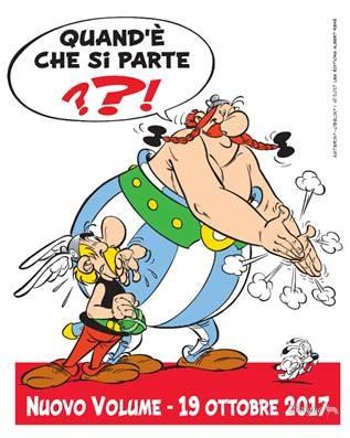 Il nuovo albo di Asterix e Obelix uscirà nel 2017